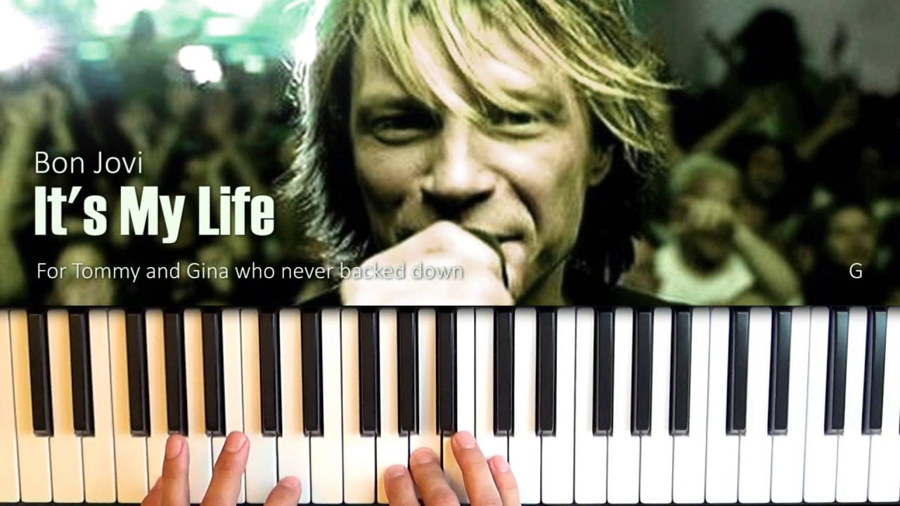 Its my life piano cover