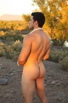 Naked men with nice butts