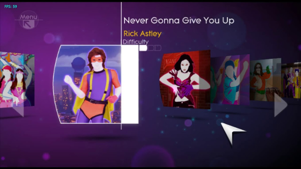 What is the just dance 4 song list